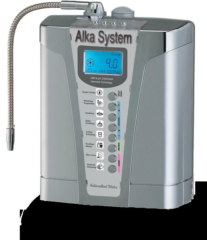Ionizzatore d'acqua alcalina AlkaSystem IonicLife